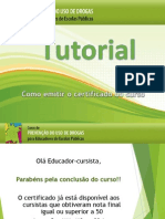 Tutorial - Como Emitir o Certificado Do Curso (3)