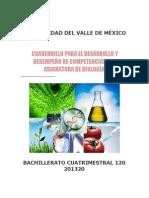 Cuadernillo de Evidencias Biologia