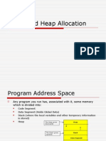 Stack and Heap Allocation
