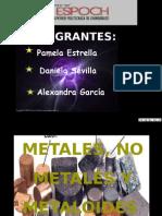 Metale,No Metales y Mealoides