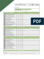 Lista de Chequeo Pre-operacional Unidades de Bombeo