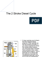 the 2 stroke diesel cycle