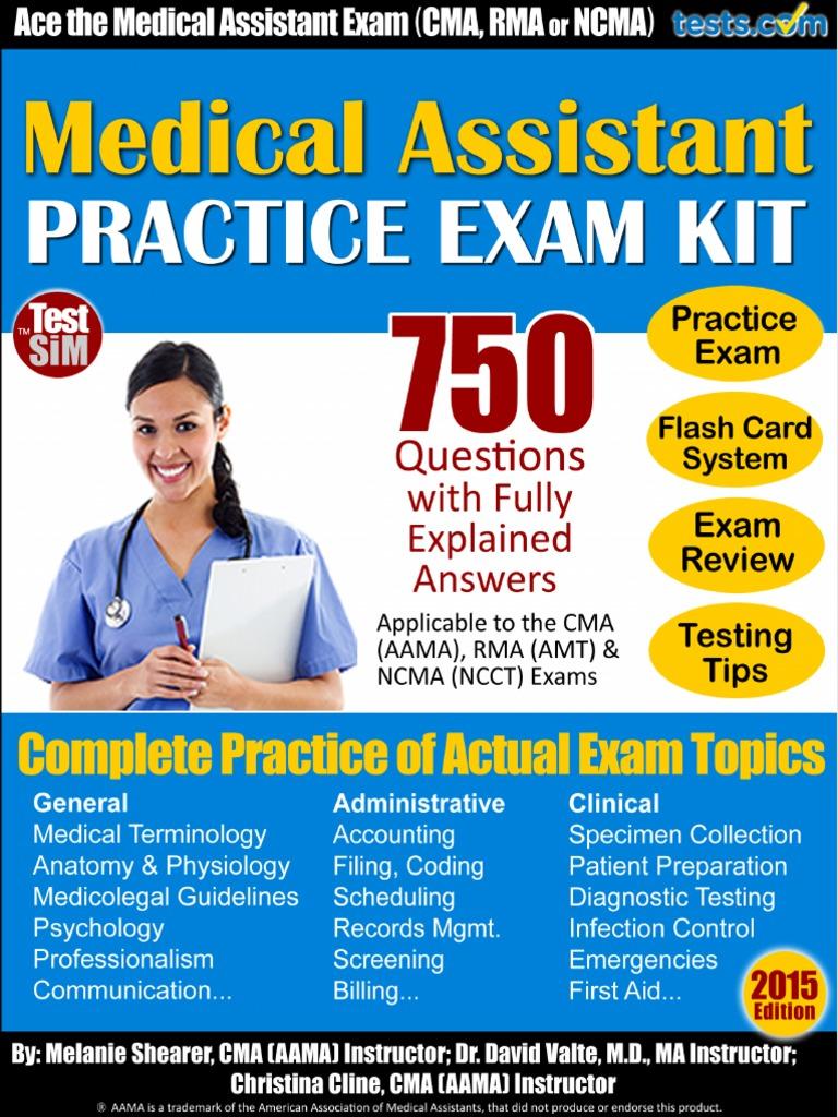 Medical-Assistant-Practice-Exam-750-2015 (1).pdf | Test (Assessment ...