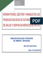 QuichizE Normatividad Gestion Manejo 55555555555555RRSS