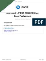 Guia led board
