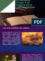 El Libro y Su Importancia Cultural