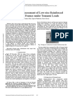 Structural Assessment of Low Rise Reinforced Concrete Frames Under Tsunami Loads