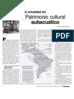 PATRIMONIO SUBACUÁTICO 2008