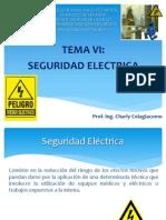 Tema 6. Seguridad Electrica