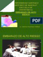 EMBARAZO DE ALTO RIESGO OBSTETRICO Y SUS CONSECUENCIAS