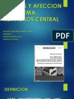 Toxinas y Afeccion Del Sistema Nerviosos Central