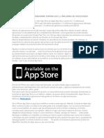 Mercado App Store Mobogenie Supera Los 1,3 Millones de Solicitudes
