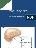 Clase Tiroides SJ