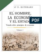 Portada del libro El Hombre, la economia y el estado
