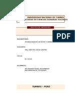 Analisis de Leche Cruda