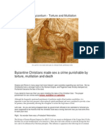 Sex Crimes in Byzantium