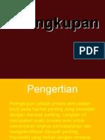 Pelingkupan (Scooping)