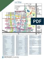 Clayton Campus Map