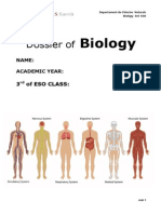 Biology 3rd ESO Full Dossier