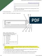 Ultrium 6 SAS Tape Drive Status Lights (FC EU11)