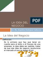 III.-la Idea Del Negocio