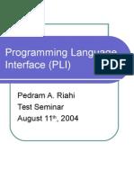 language interface techonology