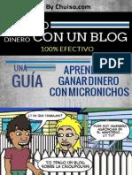 Como Ganagana con r Dinero Con Un Blog 1.1 - By Chuiso