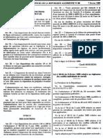 La Loi 90-04 (Conflits Individuels)