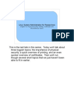 Presentation Notes 14
