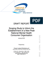 Australia-National Voice Mental Health Consumer Peak Body