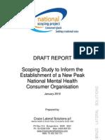 Australia-National Voice Mental Health Consumer Peak Body