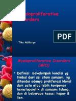 Myeloproliferative Disorders by t1ka