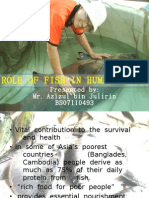 Role of Fish in Human Health