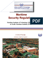 MITAGS Maritime Security Regulations
