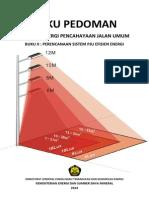 Buku II Pedoman EE PJU - Perencanaan Sistem PJU Efisien Energi