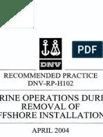 DNV-RP-H102 04