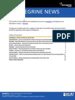 Peregrine News May 2015