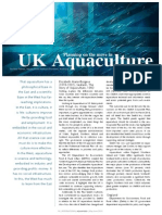 Planning on the move in UK Aquaculture