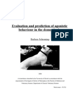 Evaluation and Prediction of Agonistic