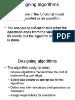 Designing Algorithms (3)