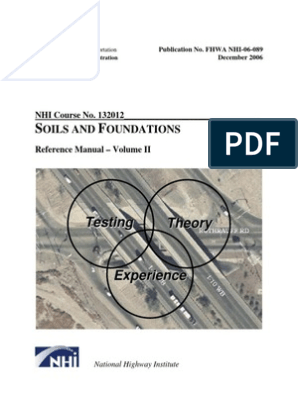 FHWA_NHI-06-089 | Geotechnical Engineering | Deep Foundation