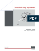 Barco InstallationManual R59770175 01 Xenon-lamp-DP1200DP1500DP2000