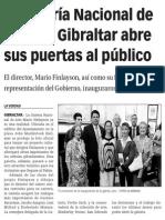 150603 La Verdad CG- La Galería Nacional de Arte de Gibraltar Abre Sus Puertas Al Público p.9