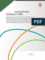 Load Balancing Oracle Database Traffic