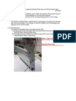 Replacement Procedure for Mounting Plate