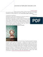 Carta de Desligamento Do Tarifa Zero Salvador e Do MPL