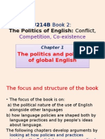 U214B Chapter 1 -- The Politcs and Policies of Global English --Book 2.pptx