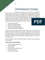 The Importance of Panchakarma Training Programs