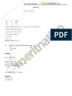 CBSE XII Board Paper - Math Set 2 Section a All India