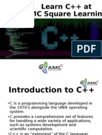 Learn CPP at AMC Square Learning